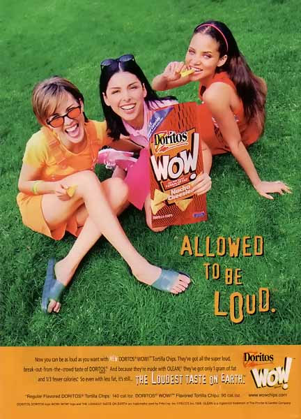 """Doritos Chips """"The Loudest Taste on Earth"""" Ad Campaign"""